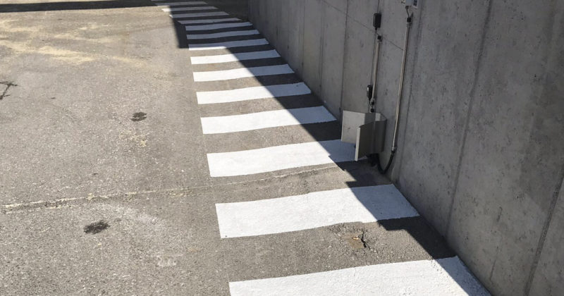 Parkplatz Markierung Österreich